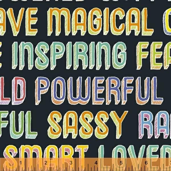 Bilde av Good Vibes Only - 3 cm skrift på sort