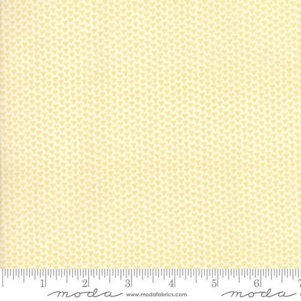 Bilde av 50 cm Sunday Supper - 3 mm gule trekanter på offwhite