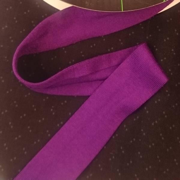 Bilde av Jersey kantbånd -  cerise-lilla