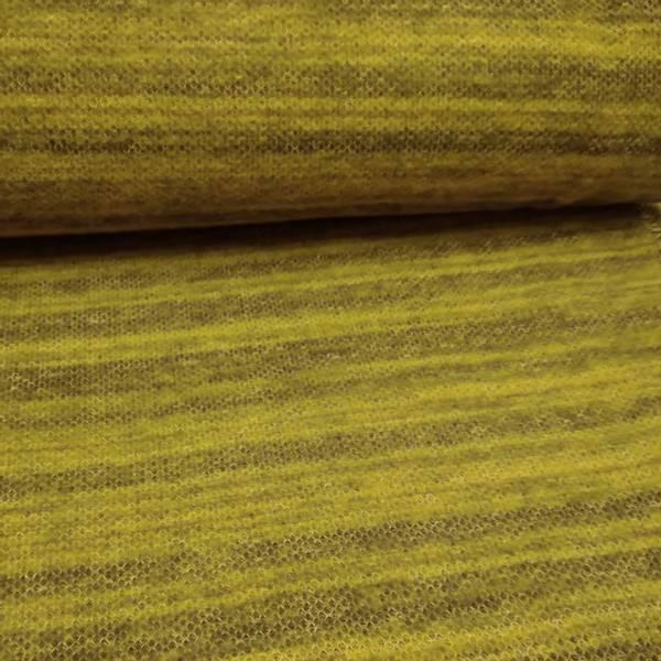 Bilde av Lett strikket ull - sennep-kaki melert