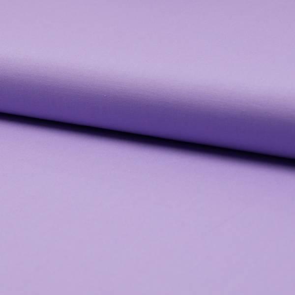 Bilde av Bomullspoplin m stretch - lys lilla