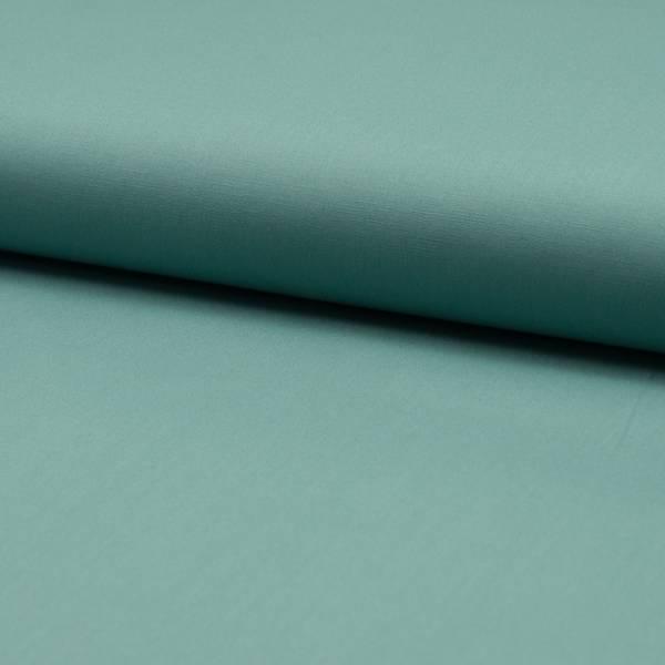 Bilde av Bomullspoplin m stretch - dus mint
