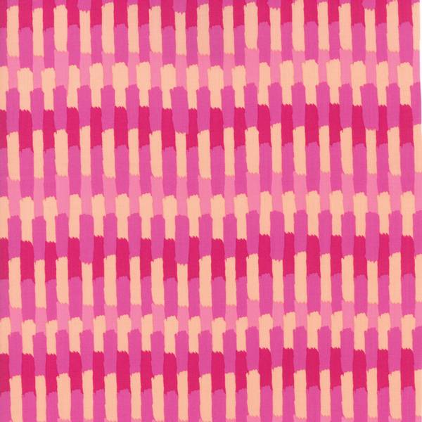 Bilde av Painted Garden - 1 cm pink-rosa strekmønster
