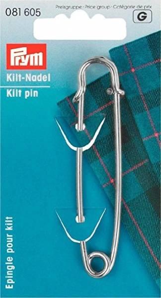 Bilde av Kilt nål, sølvfarget, Prym