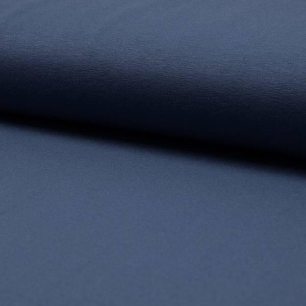 Bilde av Viskosejersey, jeans-blågrå