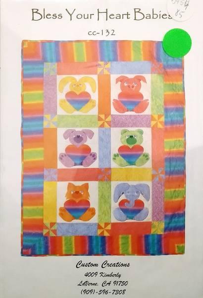 Bilde av Bless Your Hearts Babies - babyteppe ca 85*115 cm