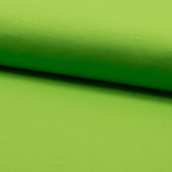 Bilde av French Terry ensfarget - limegrønn