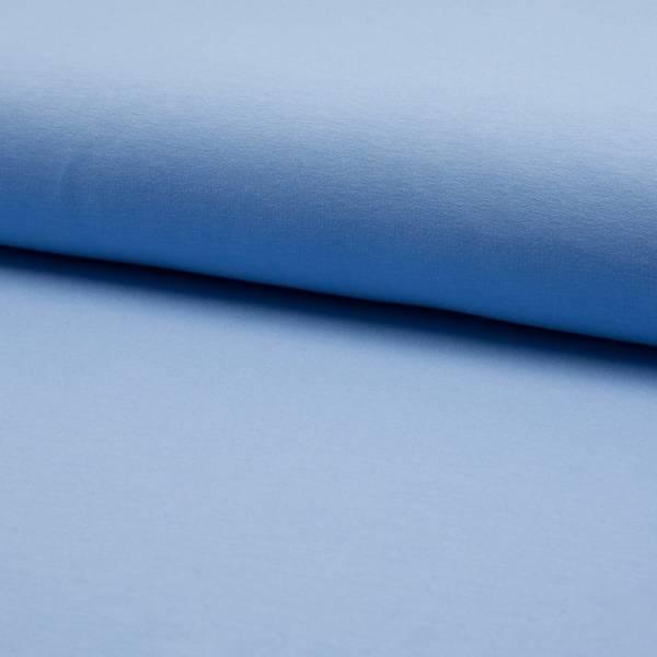 Bilde av French Terry ensfarget - lysblå