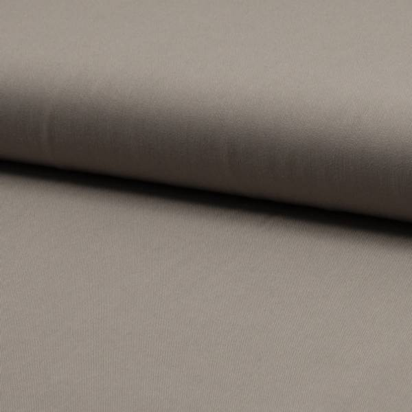 Bilde av Viskose twill ensfarget taupe