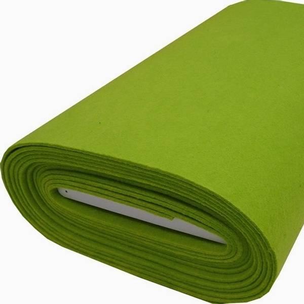 Bilde av Filt limegrønn, 5 mm tykk, stiv