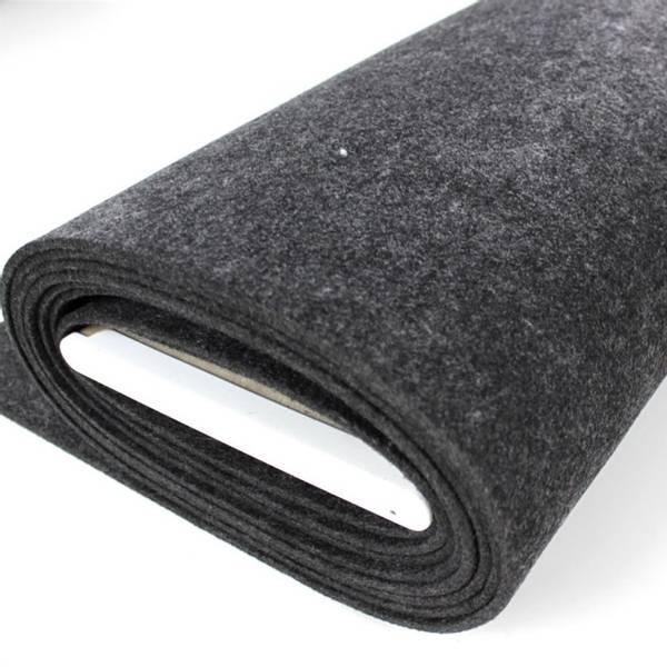Bilde av Filt mørk grå melert, 5 mm tykk, stiv