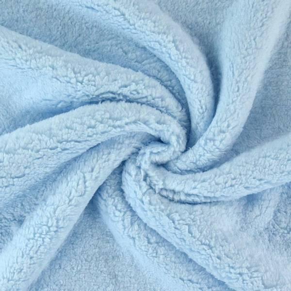 Bilde av Teddy plysj, babyblå, veldig myk