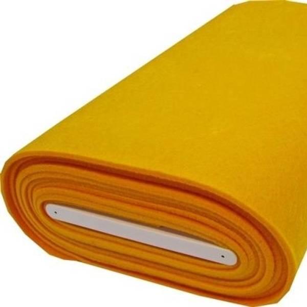 Bilde av Filt, gul, 5 mm tykk, stiv