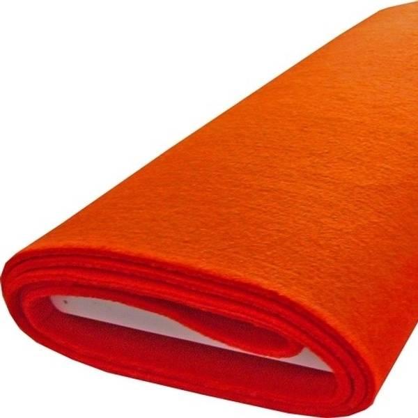 Bilde av Filt, oransje, 5 mm tykk, stiv