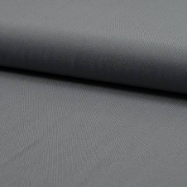 Bilde av Viskose twill ensfarget grå