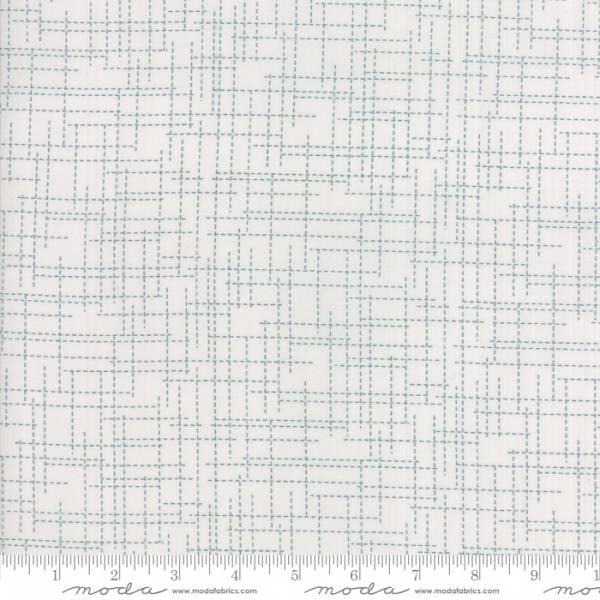 Bilde av Modern Background Colorbox - 1 cm blåturkis strekmønster på lysg