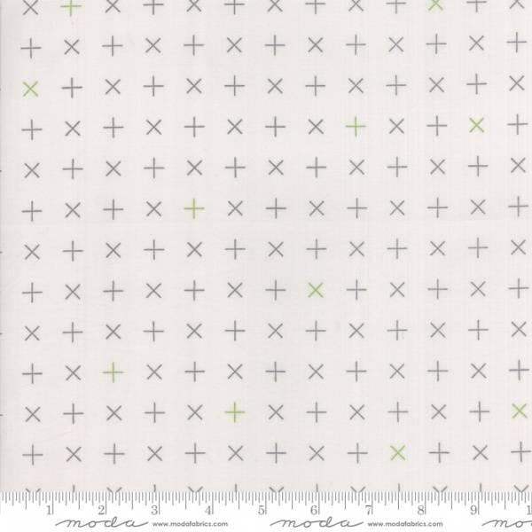 Bilde av Modern Background Colorbox - 1 cm grå kryss på lysgrå