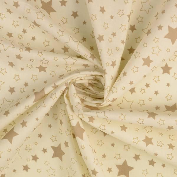 Bilde av Julebomull, 135 cm - 5-25 mm stjerner på natur