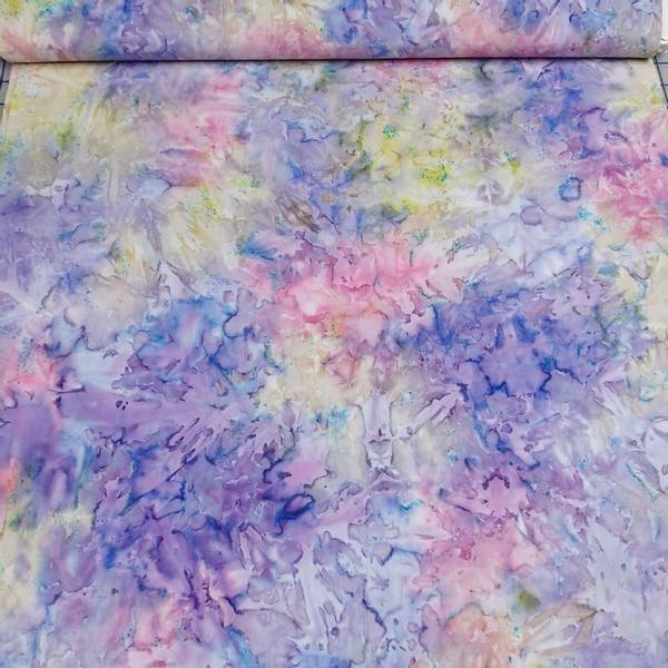 Bilde av Starburst - rosa-lilla-gulgrønn marmorert