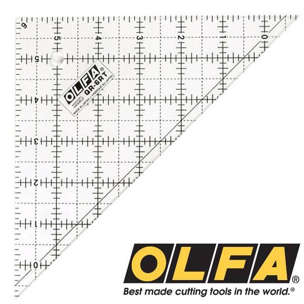 Bilde av Olfa Linjal trekant 6,5 inch