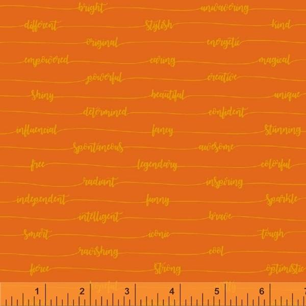 Bilde av Good Vibes Only - 6 mm skrift på oransje