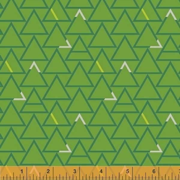 Bilde av Good Vibes Only - 25 mm trekanter på gressgrønn