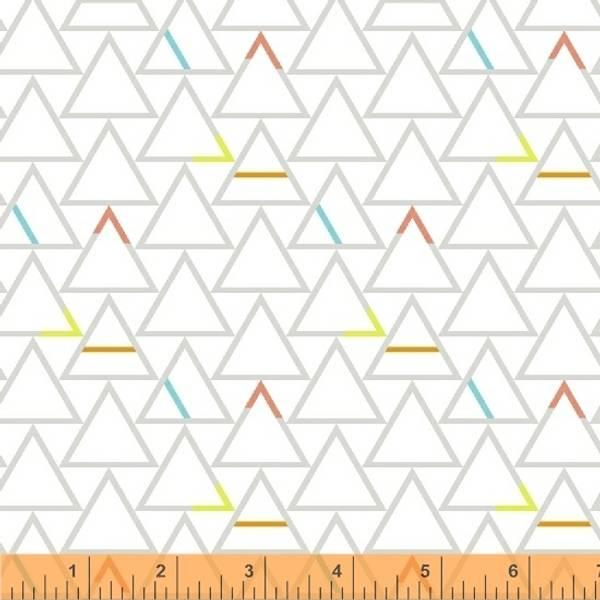 Bilde av Good Vibes Only - 25 mm trekanter på offwhite