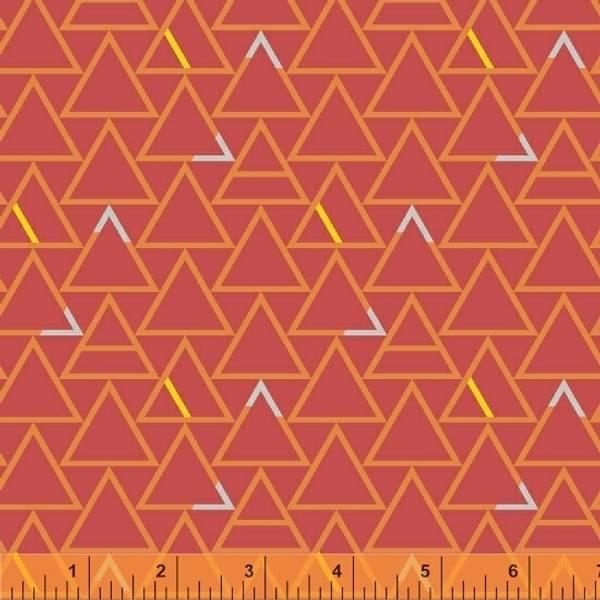 Bilde av Good Vibes Only - 25 mm trekanter på lysrød