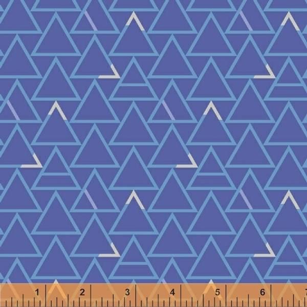 Bilde av Good Vibes Only - 25 mm trekanter på blå