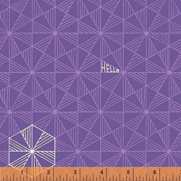 Bilde av Good Vibes Only - 2 cm trekanter på lilla