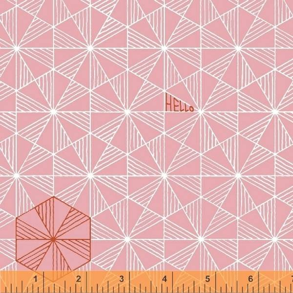 Bilde av Good Vibes Only - 2 cm trekanter på rosa