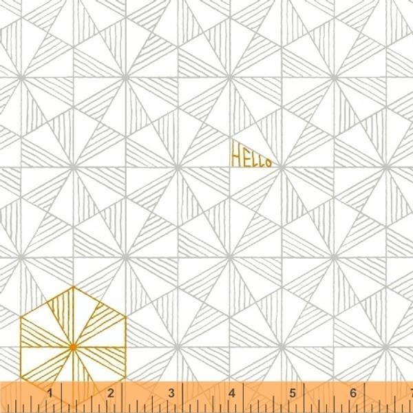 Bilde av Good Vibes Only - 2 cm trekanter på offwhite