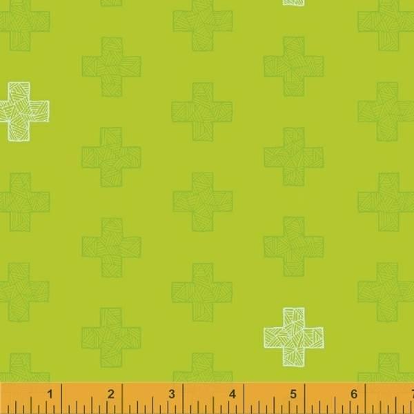Bilde av Good Vibes Only - 3 cm kryss på limegrønn