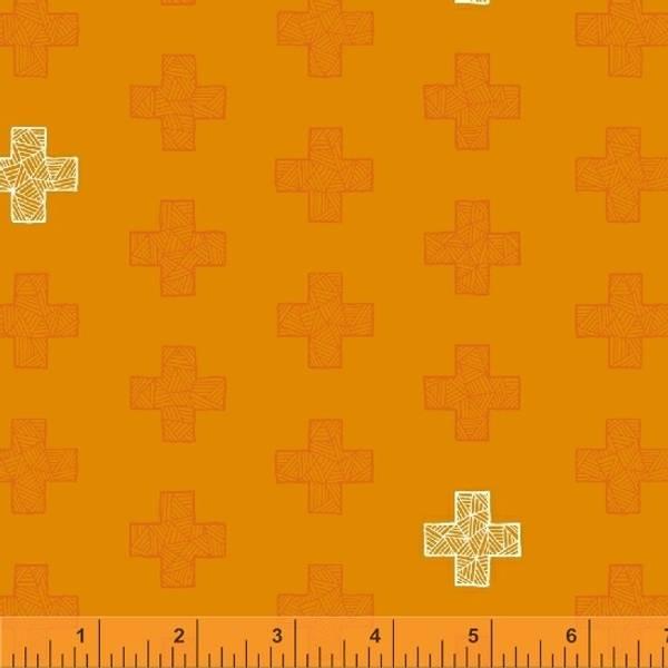 Bilde av Good Vibes Only - 3 cm kryss på oransje
