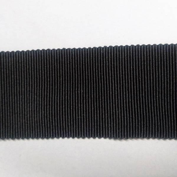 Bilde av 3 m Ripsbånd - grosGrain, 4 cm, sort