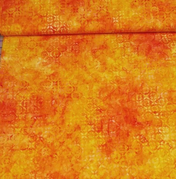 Bilde av Starburst - gul-oransje 2 cm mønster
