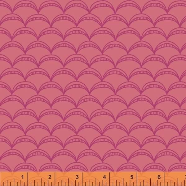 Bilde av Good Vibes Only - 2 cm skjellmønster på pink