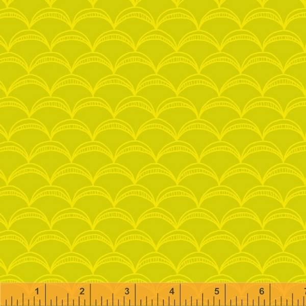 Bilde av Good Vibes Only - 2 cm skjellmønster på sitron
