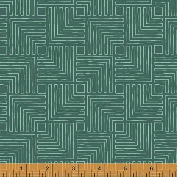 Bilde av Good Vibes Only - 4 cm logcabin på mørk sjøgrønn