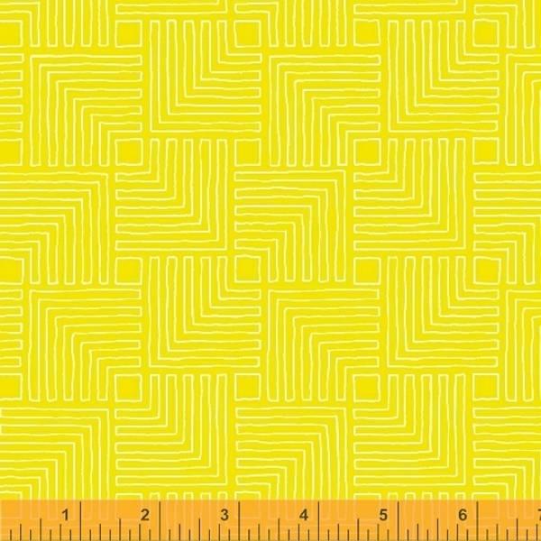 Bilde av Good Vibes Only - 4 cm logcabin på lys gul
