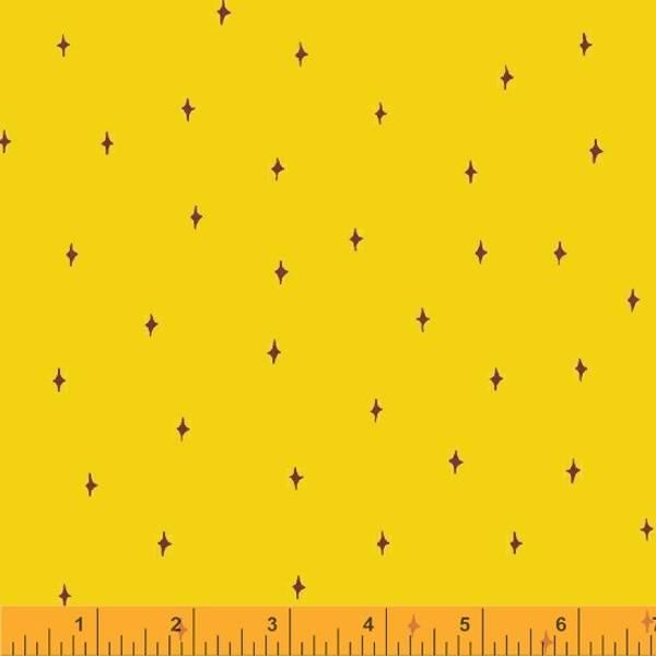 Bilde av Good Vibes Only - 5 mm stjerne på solgul