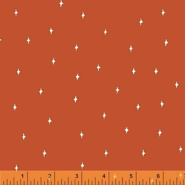 Bilde av Good Vibes Only - 5 mm stjerne på mørk oransje