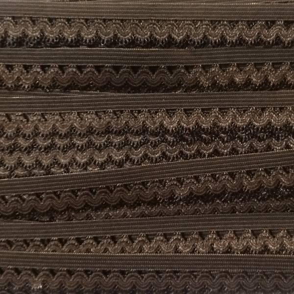 Bilde av 1,7 m Elastisk blonde med tungekant, brun