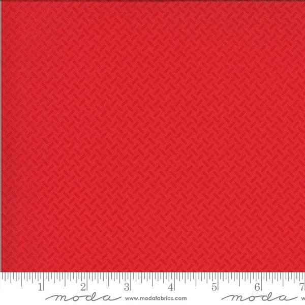 Bilde av On The Go - 5 mm røde streker på rød