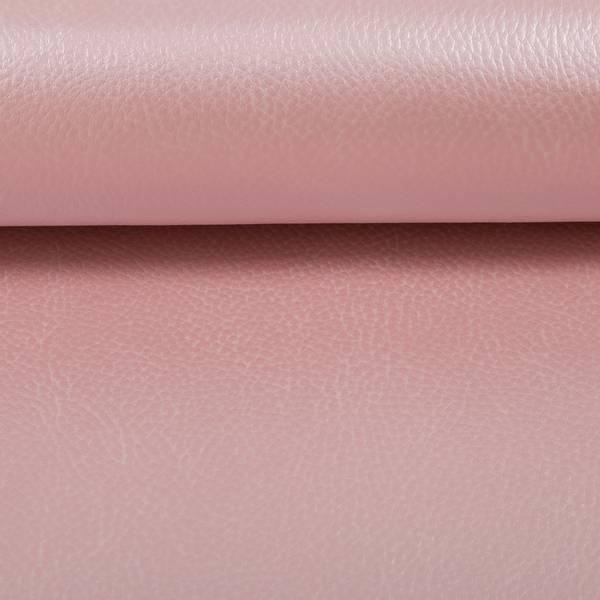 Bilde av Imitert skinn, metallic - lysrosa