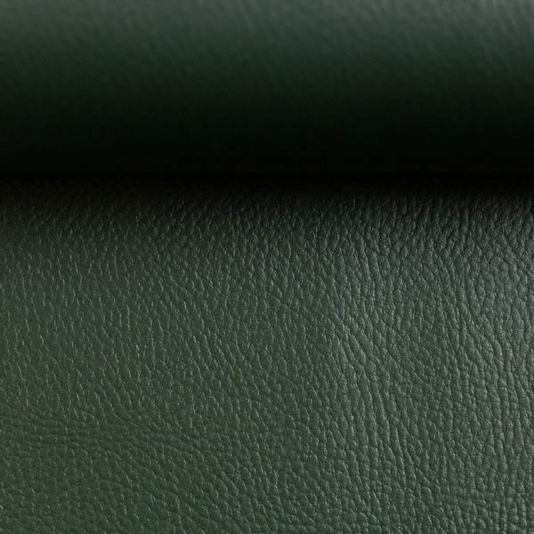 Bilde av Imitert skinn, metallic - mørkgrønn