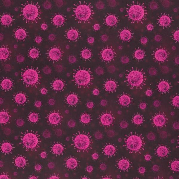 Bilde av Vevd bomull - 1-5 cm rosa virus