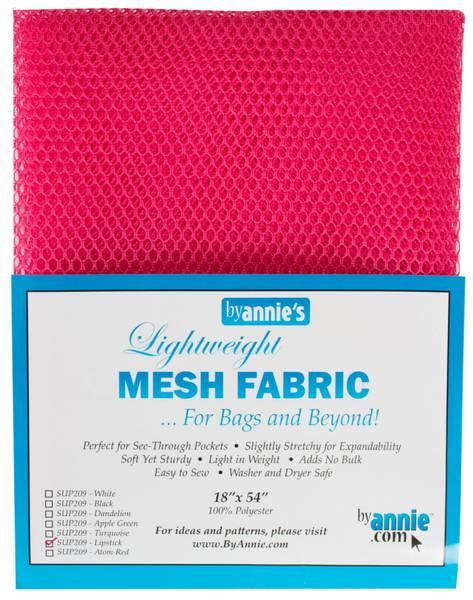 Bilde av Lightweight Mesh stoff - 46*137 cm - sterk rosa