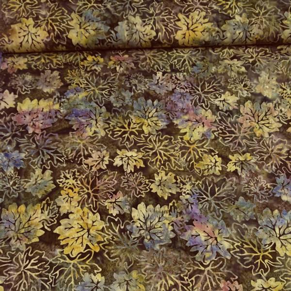 Bilde av Fairytale - 4-8 cm høstblader på brun-oliven