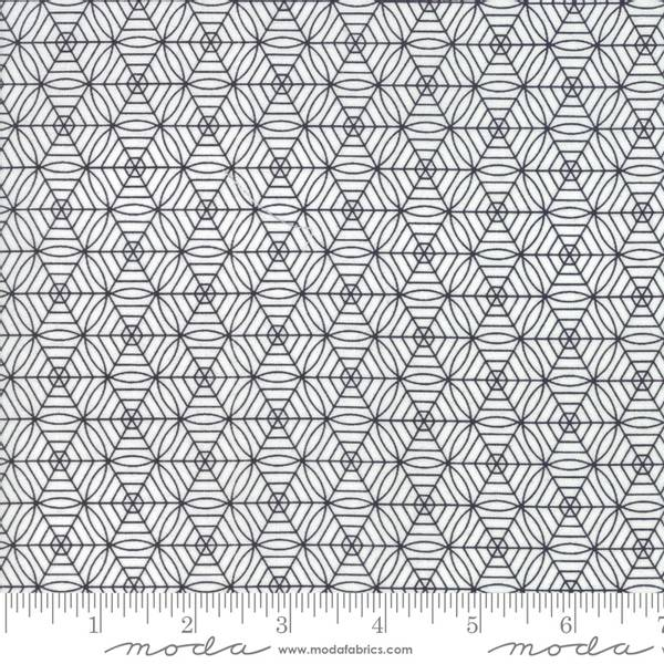 Bilde av Midnight Magic - sort-offwhite mønstret